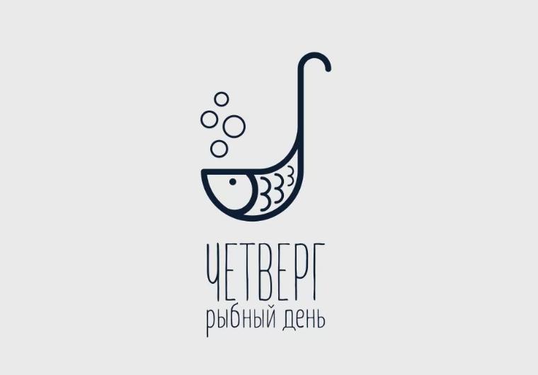 Chetverg - 鱼日餐厅鱼logo设计-上海品牌设计公司