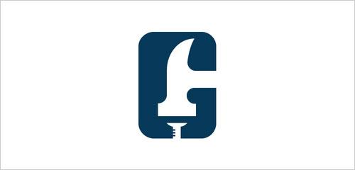 """字母""""G""""创意Logo设计-上海Logo设计公司,上海品牌策划公司"""