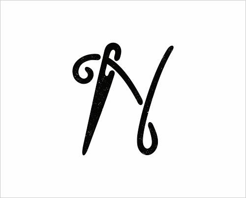 """字母""""N""""创意Logo设计-上海Logo设计公司,上海品牌策划公司"""