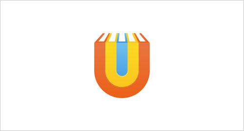 """字母""""U""""创意Logo设计-上海Logo设计公司,上海品牌策划公司"""