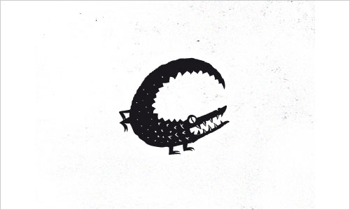 """字母""""C""""创意Logo设计:Croc Logo-上海Logo设计公司-上海品牌策划公司"""