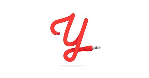 """字母""""Y""""创意Logo设计-上海Logo设计公司,上海品牌策划公司"""
