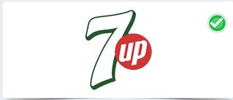 七喜的新logo