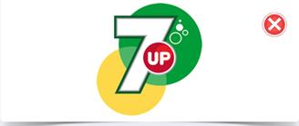 七喜的旧logo