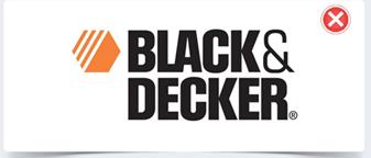 Black & decker 电动工具旧的logo-上海logo设计公司