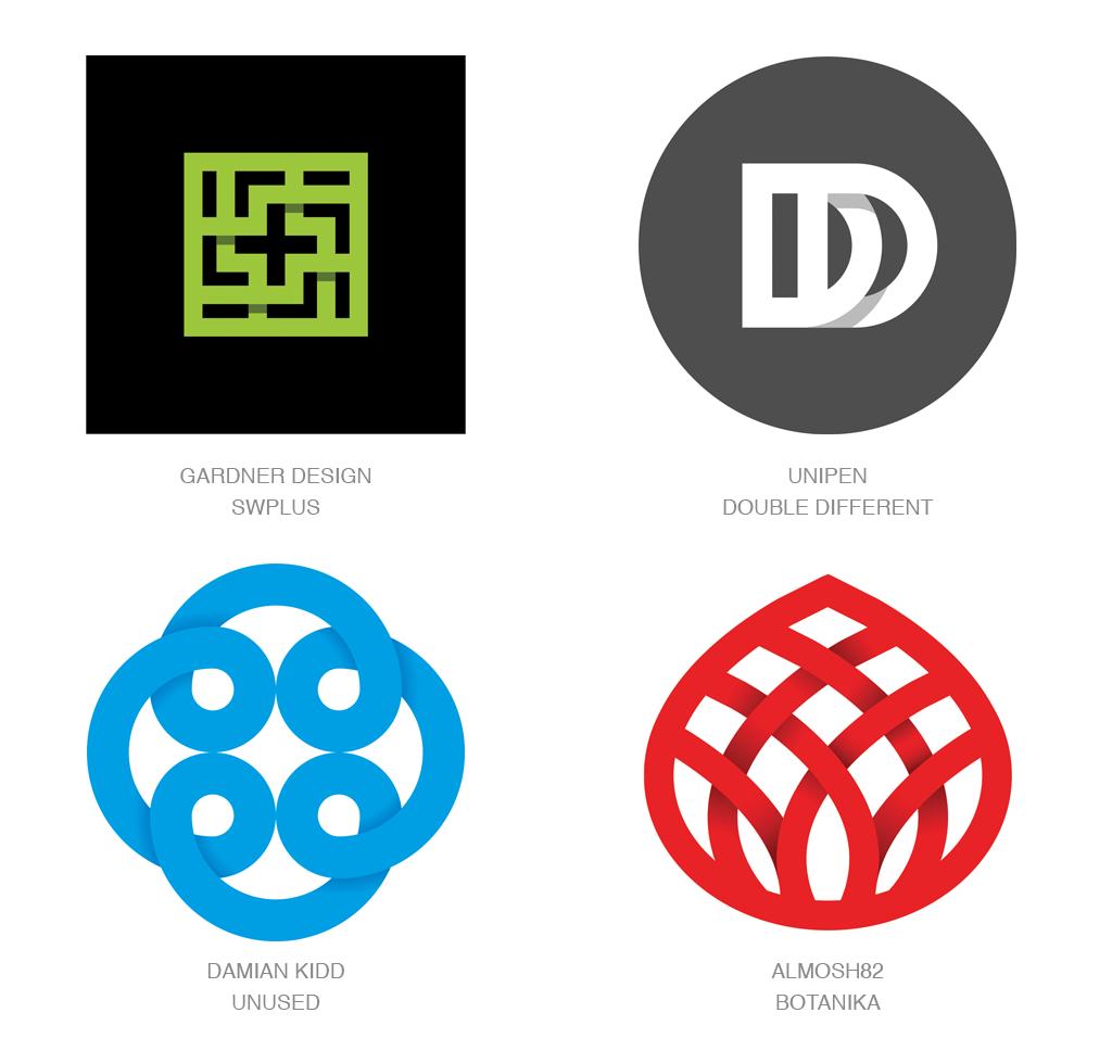 阴影交叠logo-2017年LOGO设计趋势报告完整版-上海LOGO设计公司
