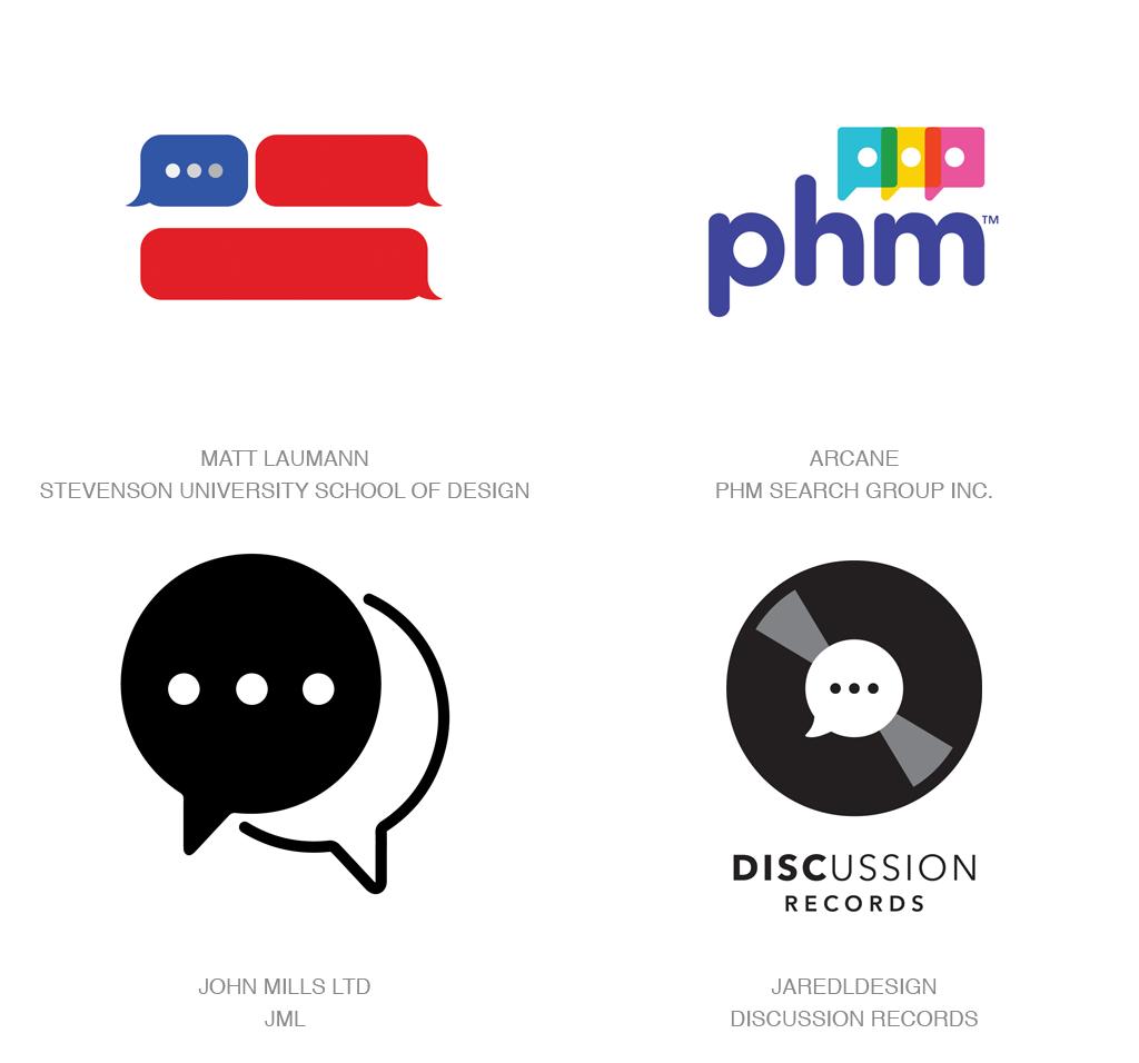 对话气泡logo-2017年LOGO设计趋势报告完整版-上海LOGO设计公司