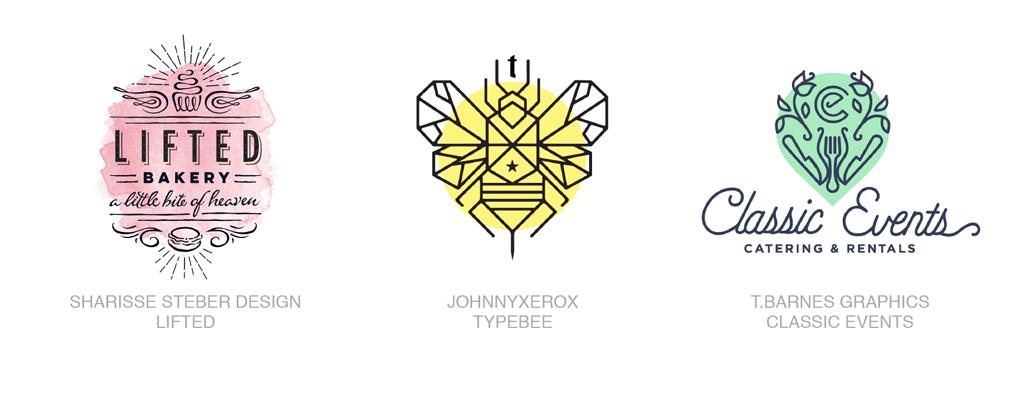 单色领域logo-2017年LOGO设计趋势报告完整版-上海LOGO设计公司