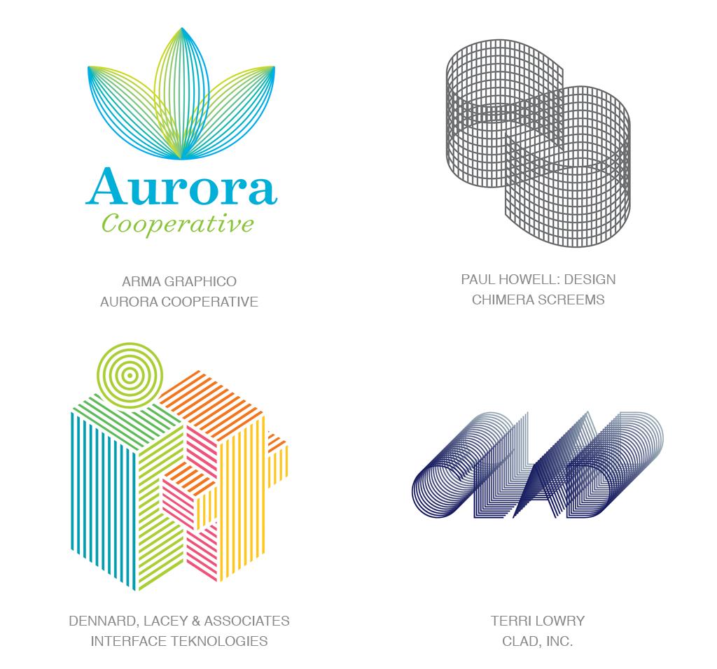 细线编织logo-2017年LOGO设计趋势报告完整版-上海LOGO设计公司