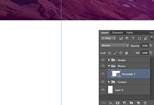 网站设计教程-如何在Photoshop中设计一个简单的网页-上海网站设计公司