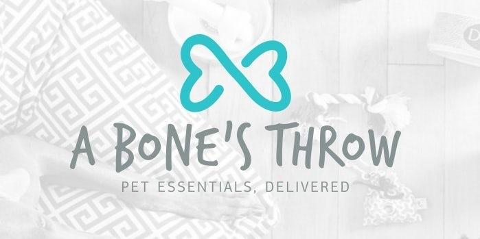骨头图案宠物logo设计---上海logo设计公司