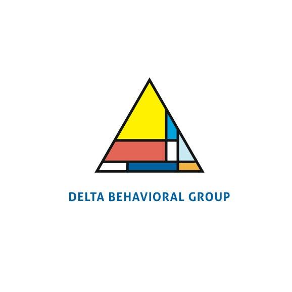 多彩而平静的三角形logo设计欣赏-上海logo设计公司