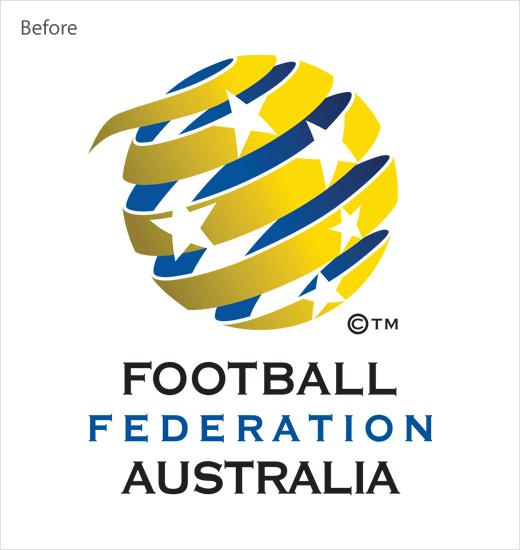 澳大利亚足球联合协会旧标志设计
