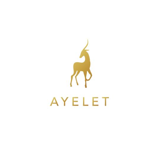 金箔logo设计-Ayelet 金鹿标志设计