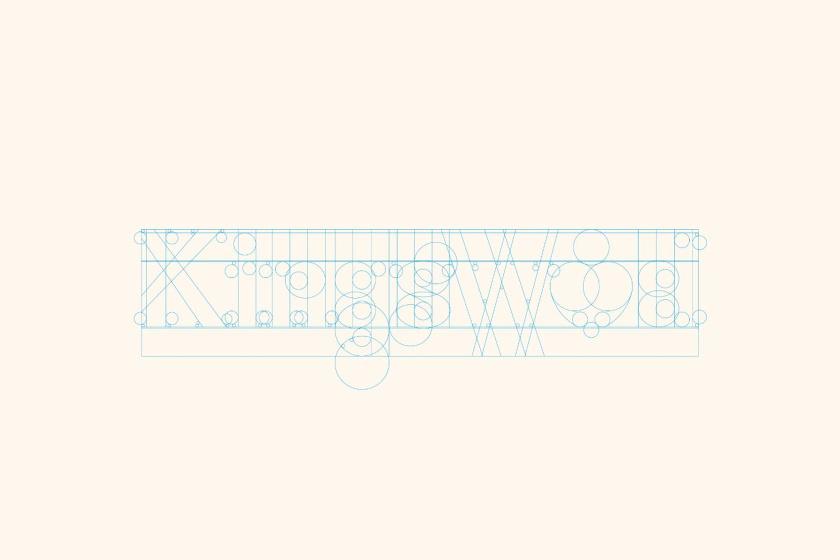 Kingswood苹果酒包装标签设计-徽标创作