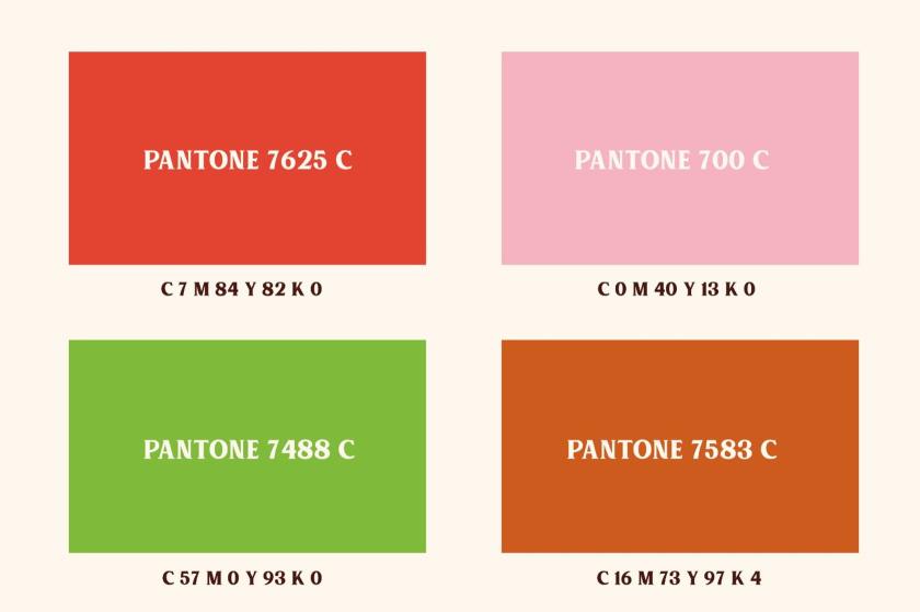 Kingswood苹果酒包装标签设计-颜色