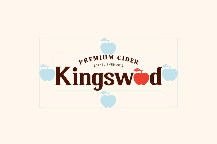 Kingswood苹果酒包装标签设计-徽标保护区