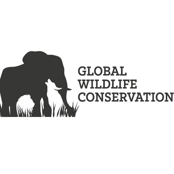 艺术单色徽标logo设计-全球野生动物保护标志设计