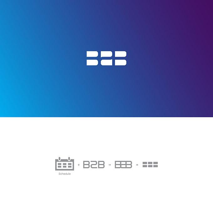 群化logo设计的基本形和位置关系