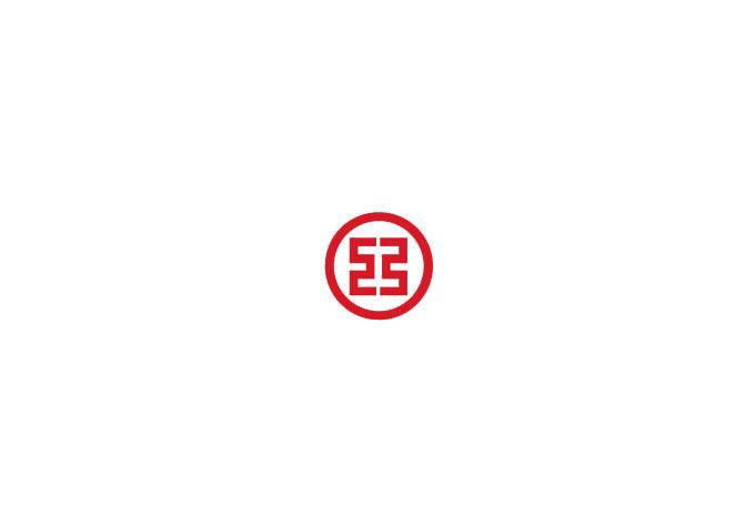 群化logo设计的基本形和位置关系-对称放置