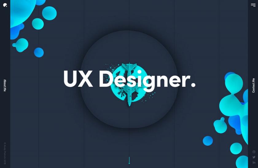 网页设计技巧-用渐变色气泡来营造立体感