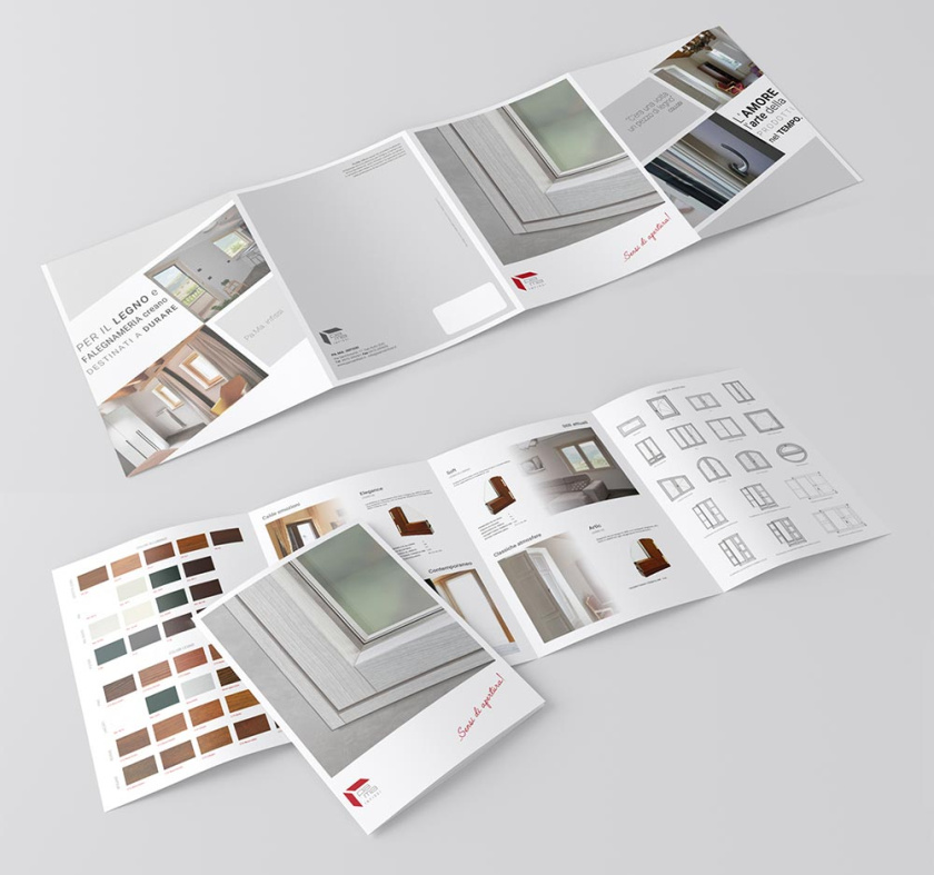 PaMa infissi家具公司宣传册设计