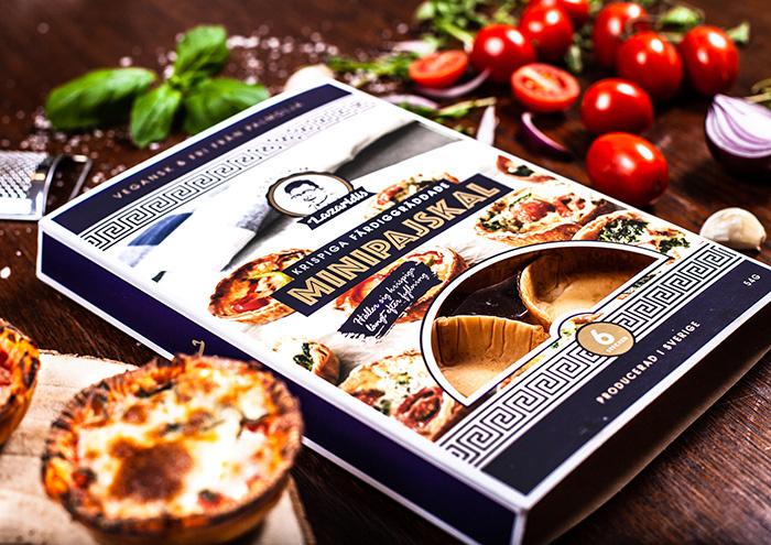 Filo糕点包装设计,突出希腊传统