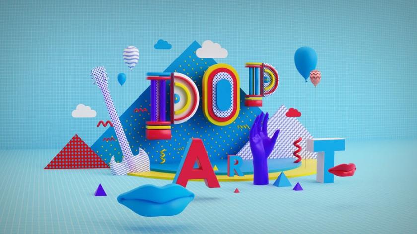 3D设计-波普艺术设计