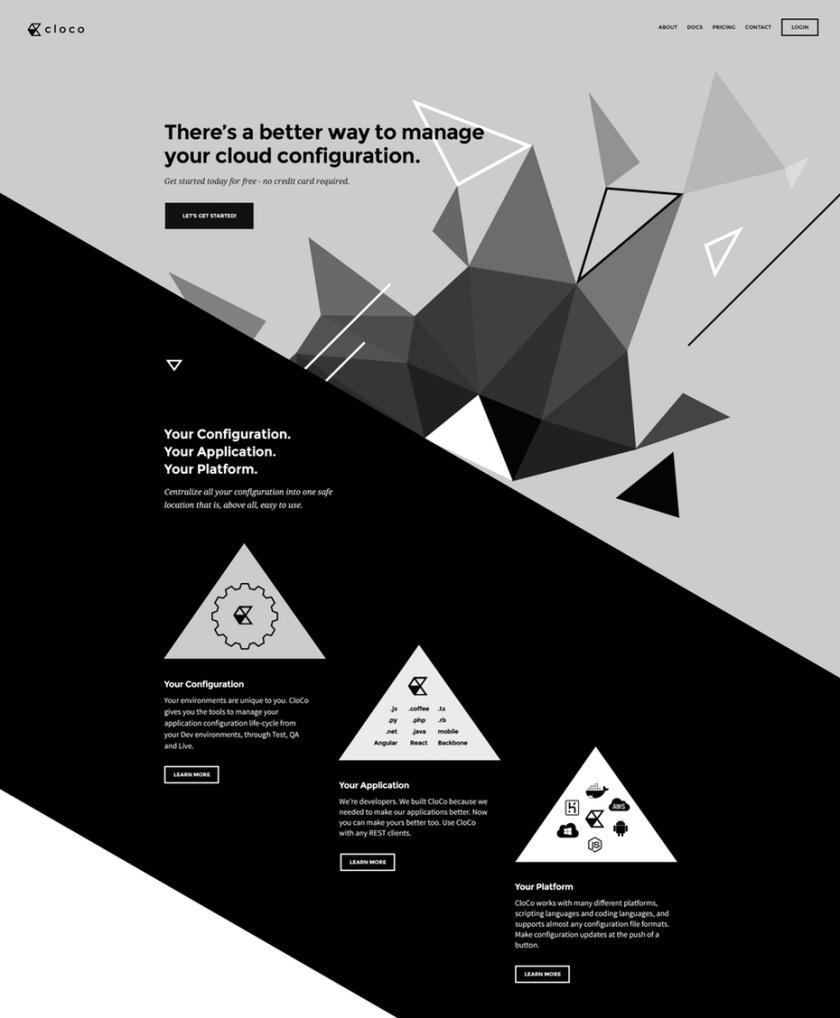 不对称布局设计-解构的网页设计