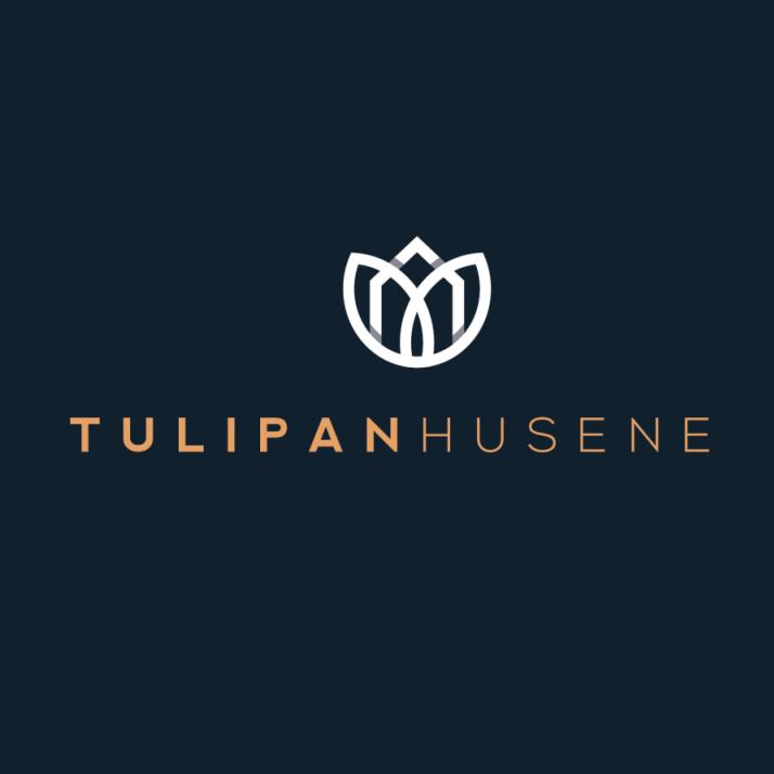 装饰艺术-Tulipan Husene标志设计