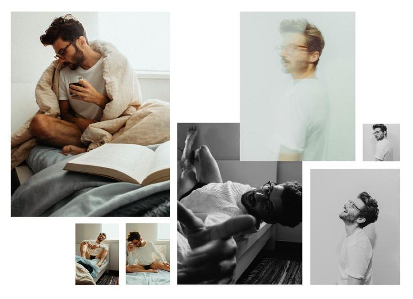 温暖和不喜形于色的照片调色板-穆迪时装拍摄