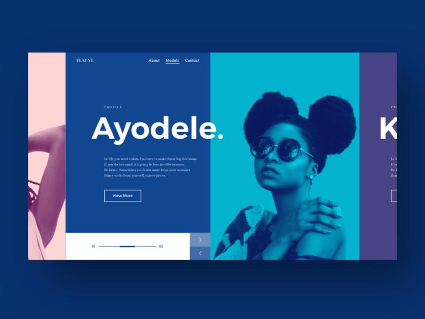 开放设计-Ayodele建模网站设计