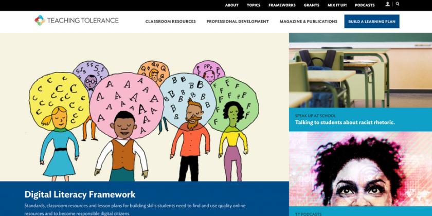 tolerance.org网页设计