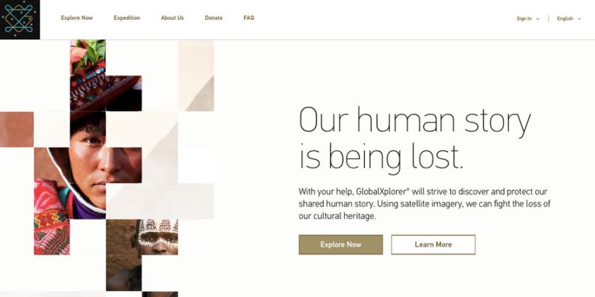 GlobalXplorer网页设计
