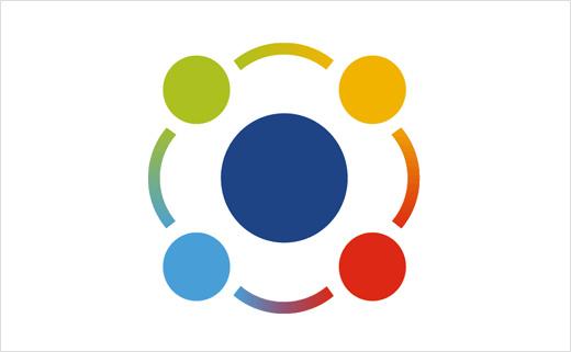 医疗护理业务管理app平台myAko新logofun88乐天使备用,四个小圆围绕一个大圆