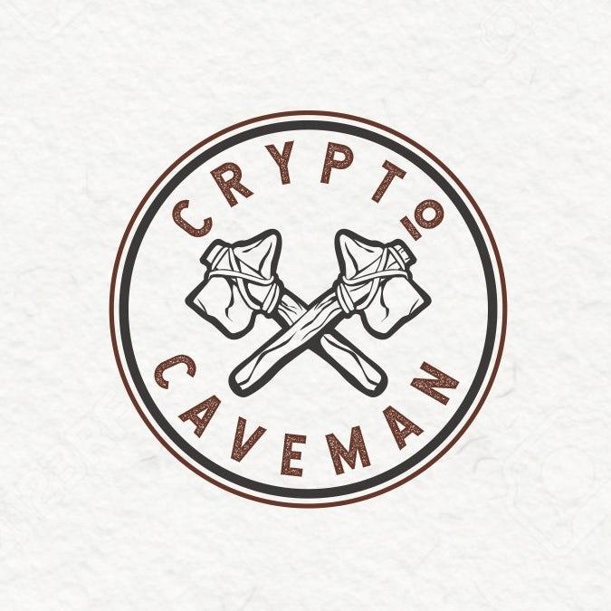 Crypto穴居人logo