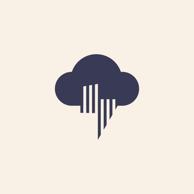 风暴图案标记logo-上海Logo设计公司logo设计最终指南