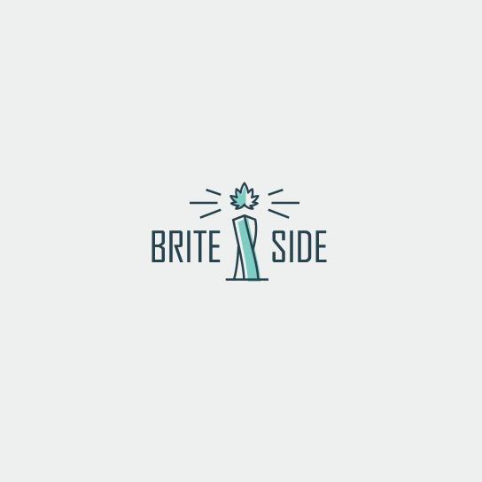Brite Side的组合标志设计-上海Logo设计公司logo设计最终指南