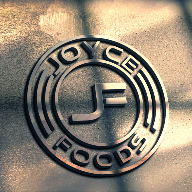 Joyce Food 食品备选logo设计方案-金属风