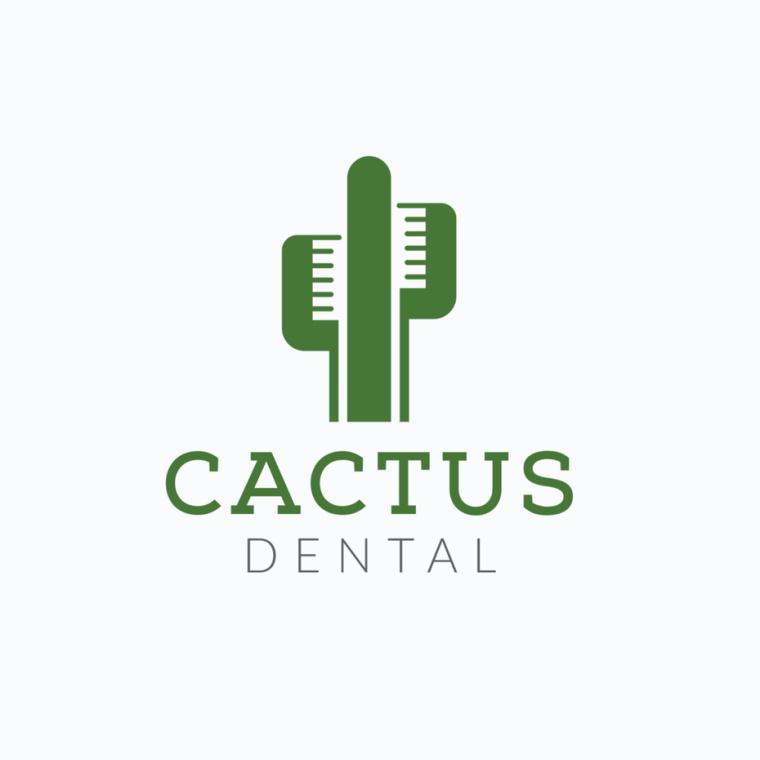 仙人掌牙科logo设计-上海Logo设计公司logo设计最终指南