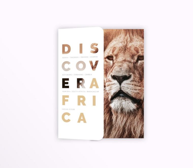 """宣传册设计贝拉""""为发现非洲""""-设计宣传册最终指南-上海画册设计公司"""