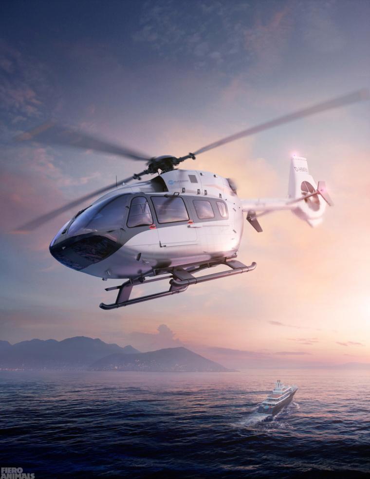 上海海报设计公司欣赏:一组奇幻的汽车与飞机创意海报