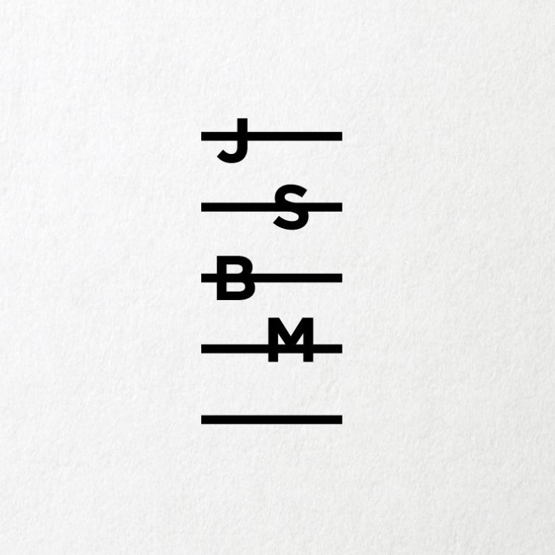 作为建筑构造的几何形状logo设计-学校logo
