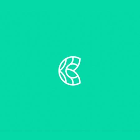 对称和平衡的几何logo设计-反映自身的更复杂的图像可以创造出不同类型的平衡感