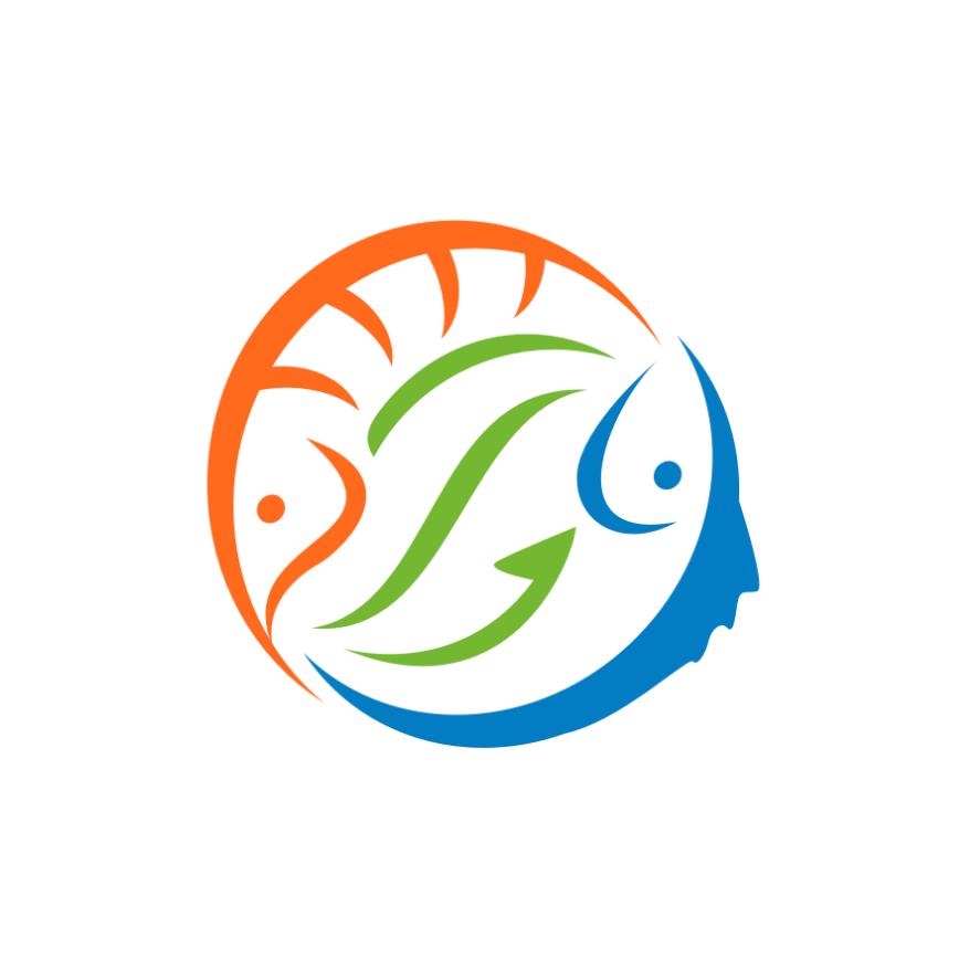 对称和平衡的几何logo设计-产生阴阳平衡效果的logo