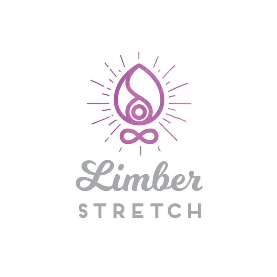 对称和平衡的几何logo设计-平衡感与柔和的女性色彩相结合可以使女性的标志脱颖而出