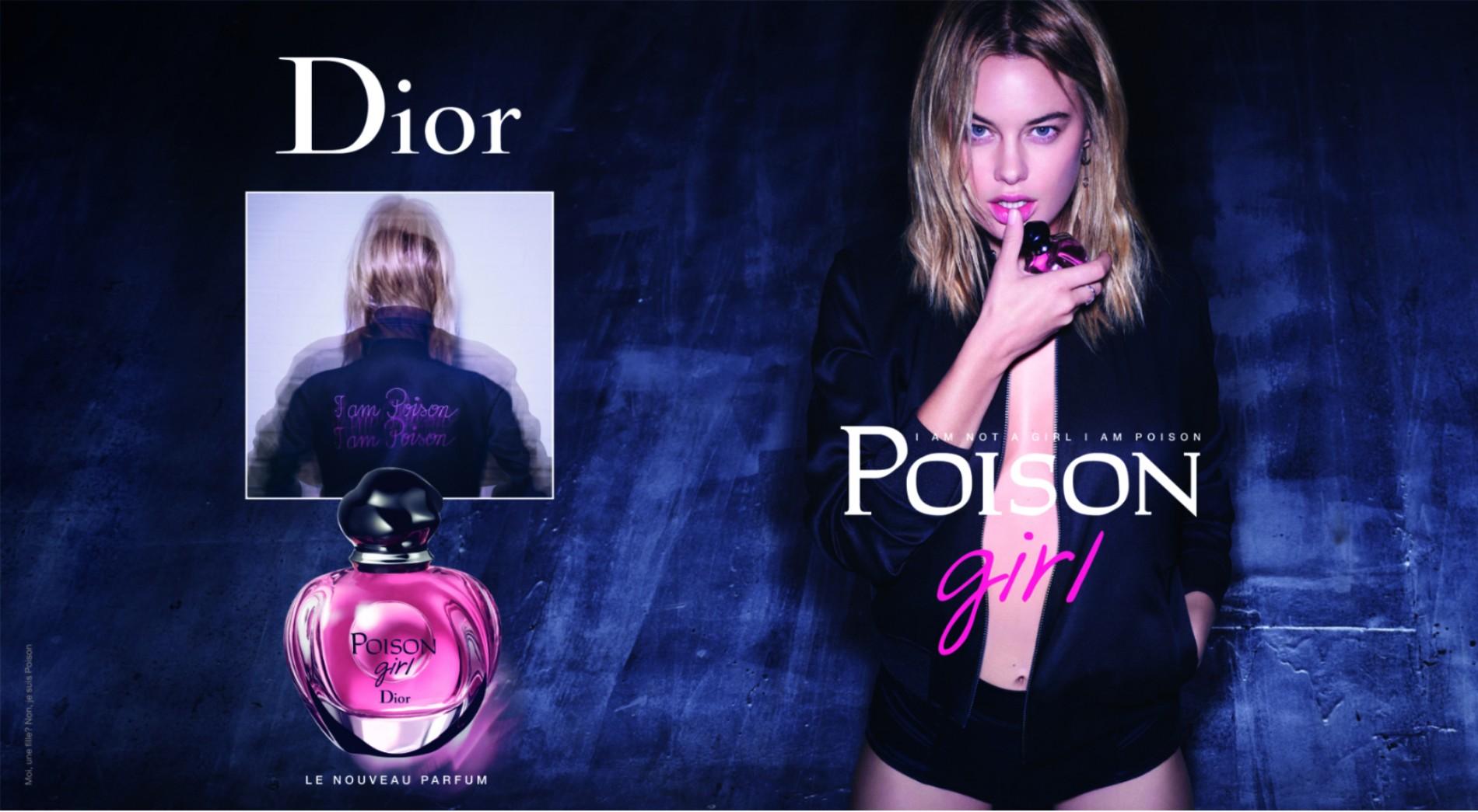 Dior的毒药女孩美容化妆品品牌命名