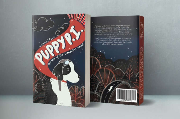 """""""Puppy PI""""书籍小狗封面设计--上海品牌设计公司"""