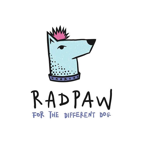 Radpaw 小狗宠物食品品牌标志logo设计--上海品牌设计公司