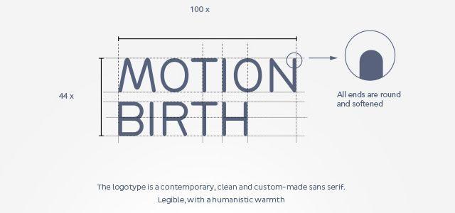 Motion Birth 运动诞生动感多彩品牌vi形象设计-logo